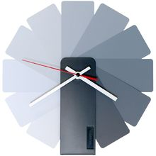Часы настенные Transformer Clock. Black & Monochrome